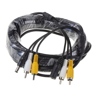 RCA audio/video kabel, 10m