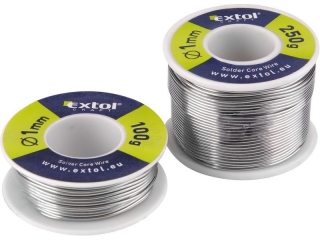 Cín pájecí, Ř1mm, 100g EXTOL-CRAFT